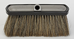 Complete Brush Natural Hog's Hair Bristle Aluminum Head