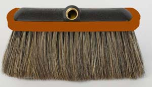 "4 1/2"" Long Hog's Hair Bristle"