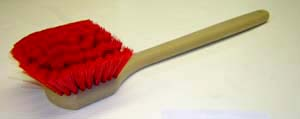 "19 3/4"" Long Handle multi scrubber brush"