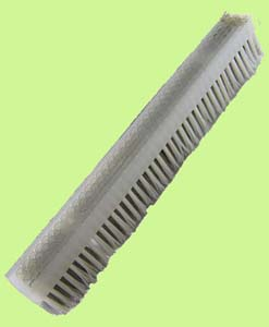 Plastic Block Tire Brush
