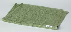 Green Cotton Towels